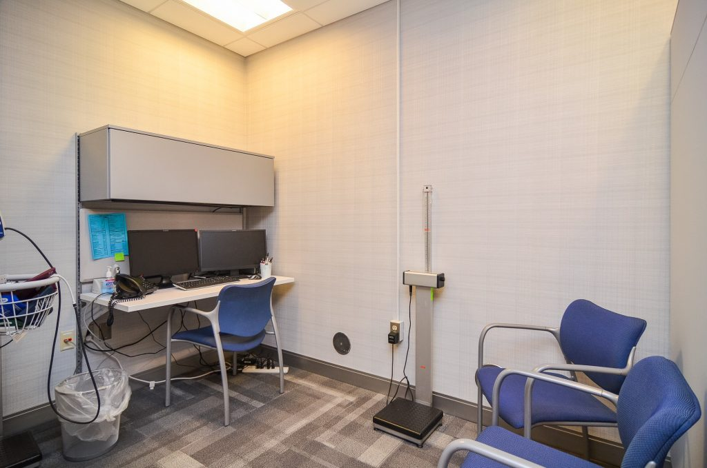Loeks Residency Center exam room