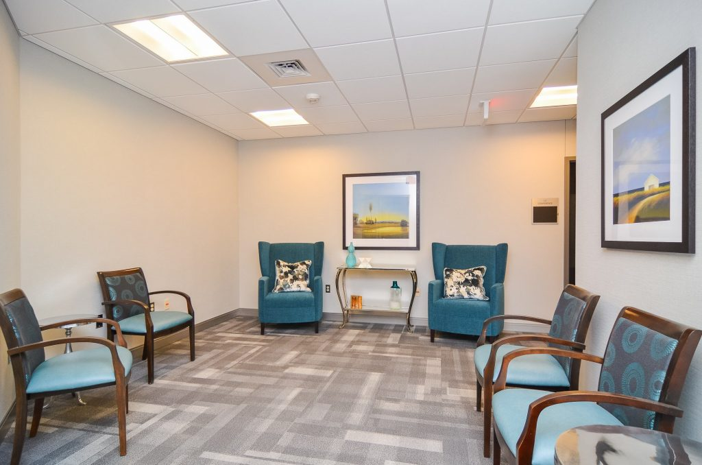 Loeks Residency Center waiting room