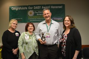 Group of people at DAISY Award ceremony