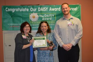 Staff at DAISY award ceremony