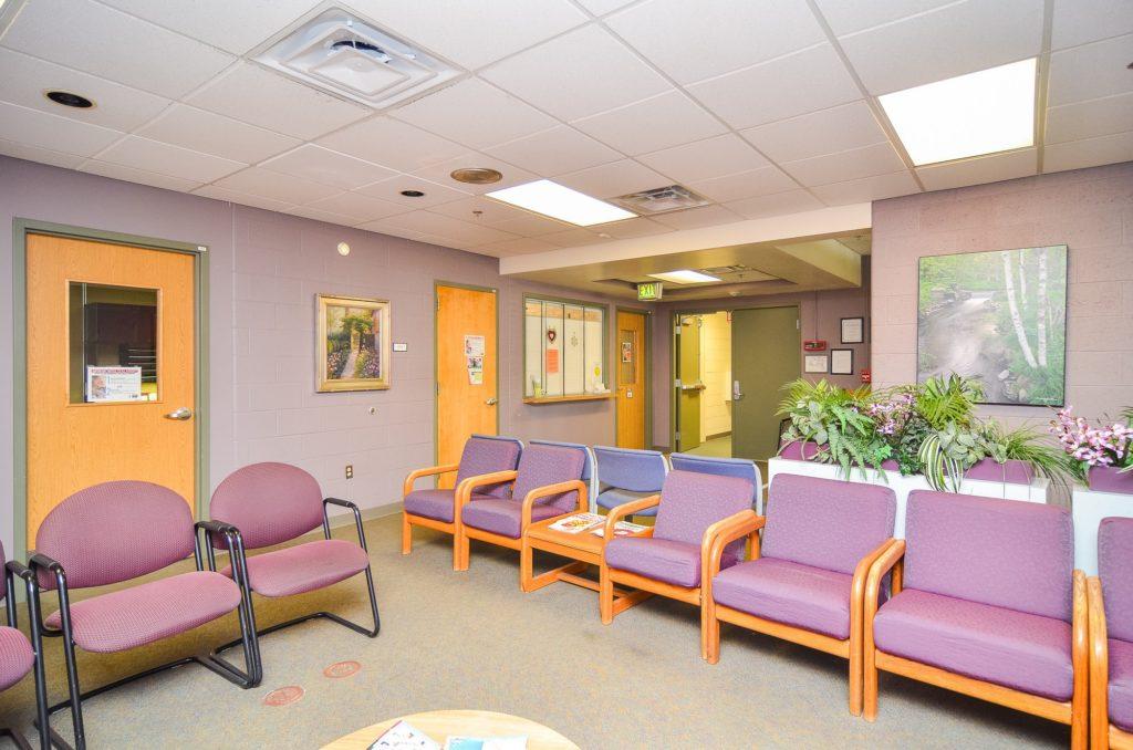 ECT & TMS Clinic lobby