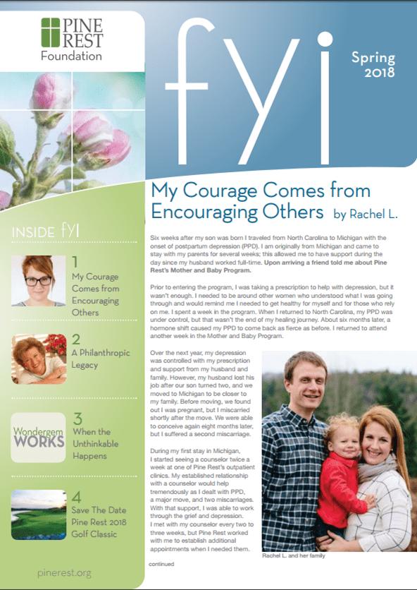 FYI Spring 2018 Newsletter Cover