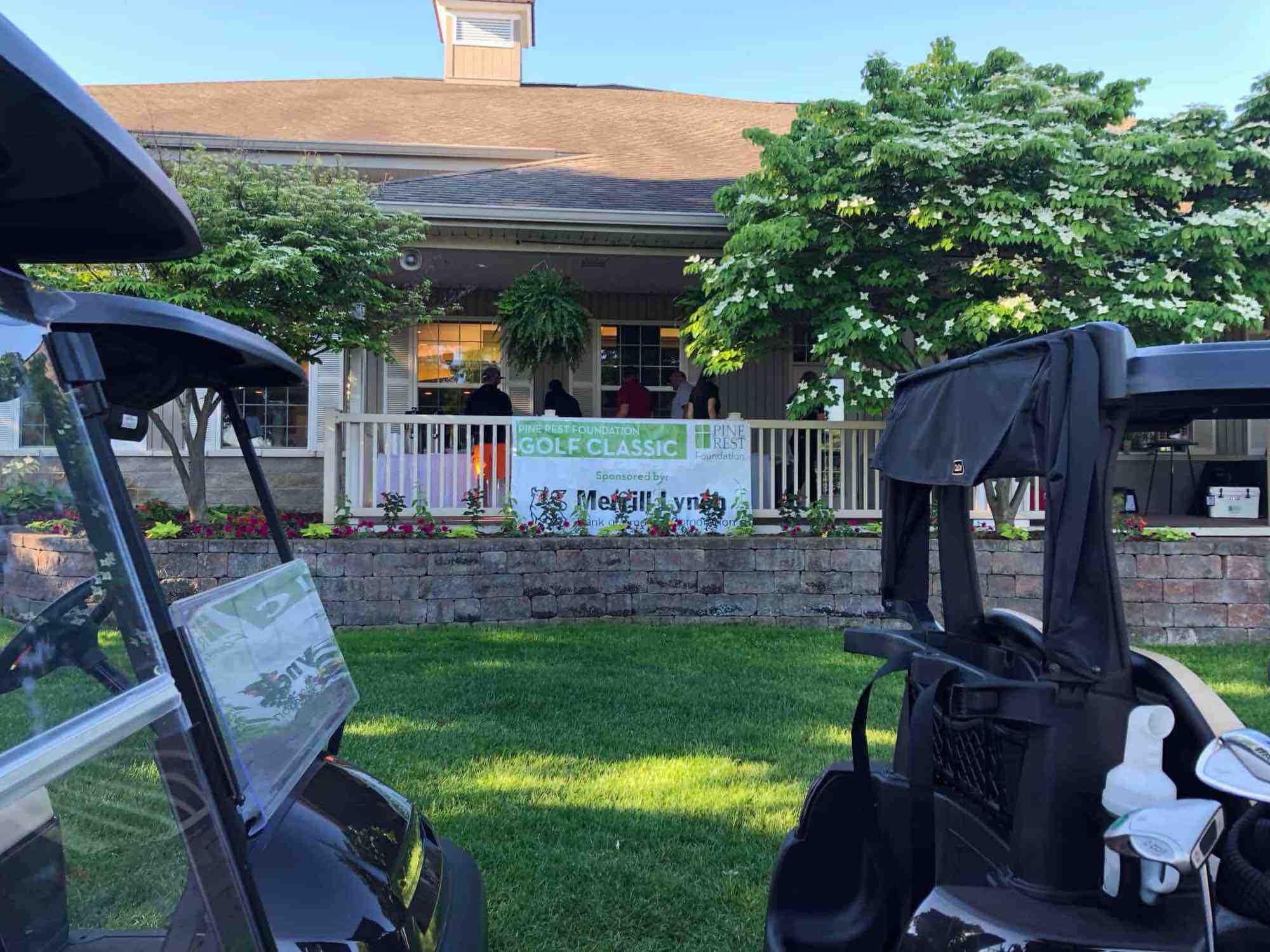 GOLF CLASSIC 2018: Golf Classic Sign