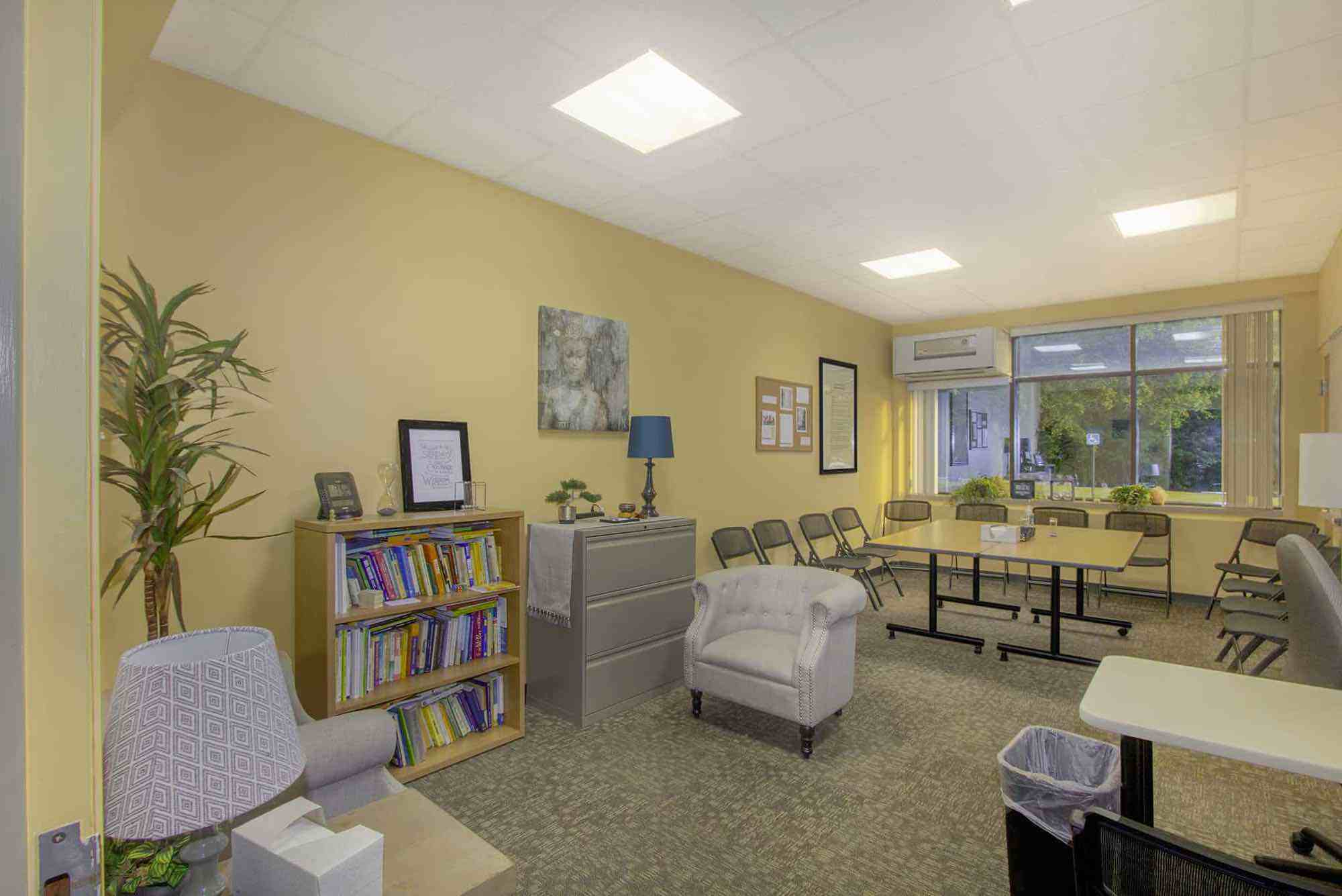 Retreat Clinic therapy room