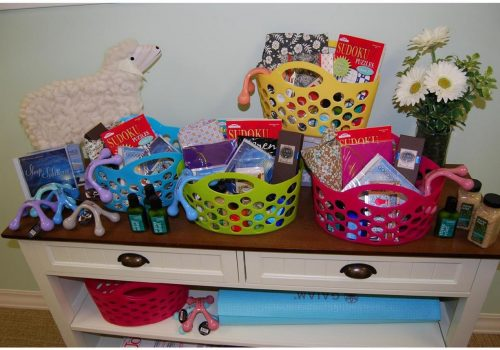 Mother Baby Gift Baskets are overflowing with goodies for Mom & Baby!