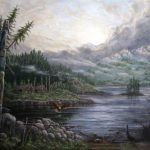 Richard Muller Exhibit Opening at Pine Rest Leep Art Gallery July 5