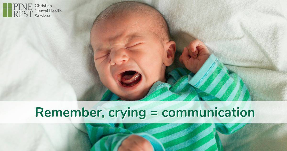 Wailing newborn baby