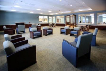 Common area for Older Adult unit