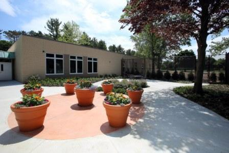 Courtyard for Older Adult unit