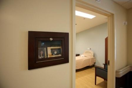 Single room in Older Adult unit
