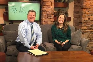 Portage Clinic therapist does TV interview on WZZM