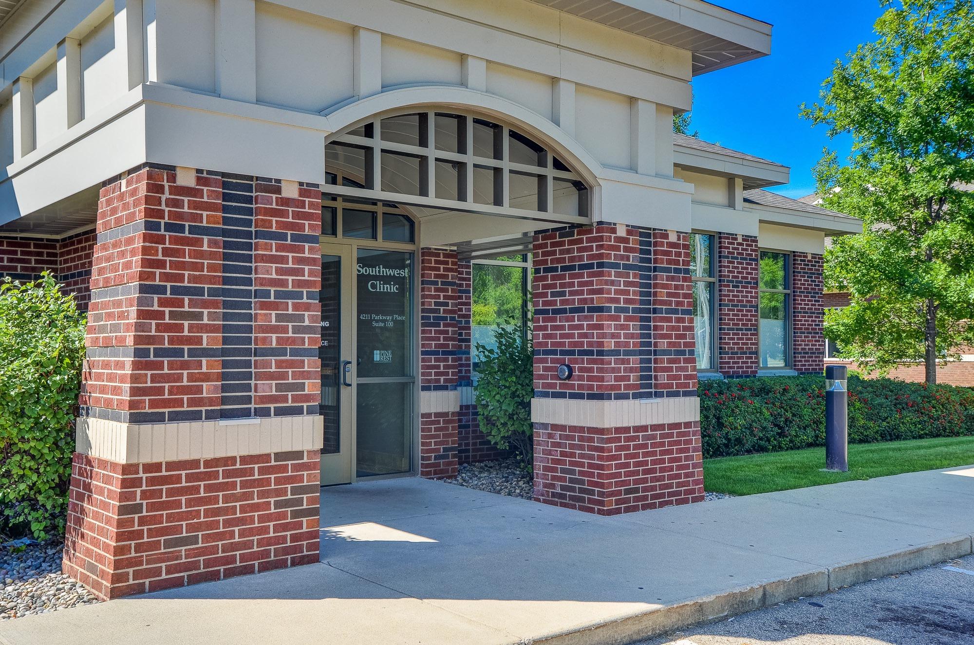 Southwest Clinic entrance
