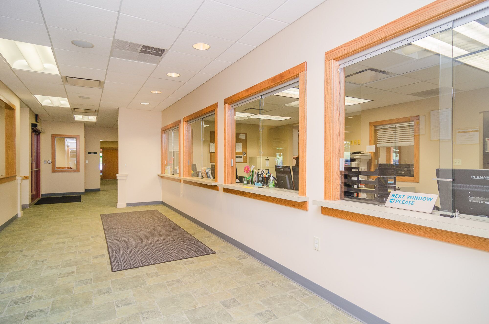 Traverse City Clinic waiting area