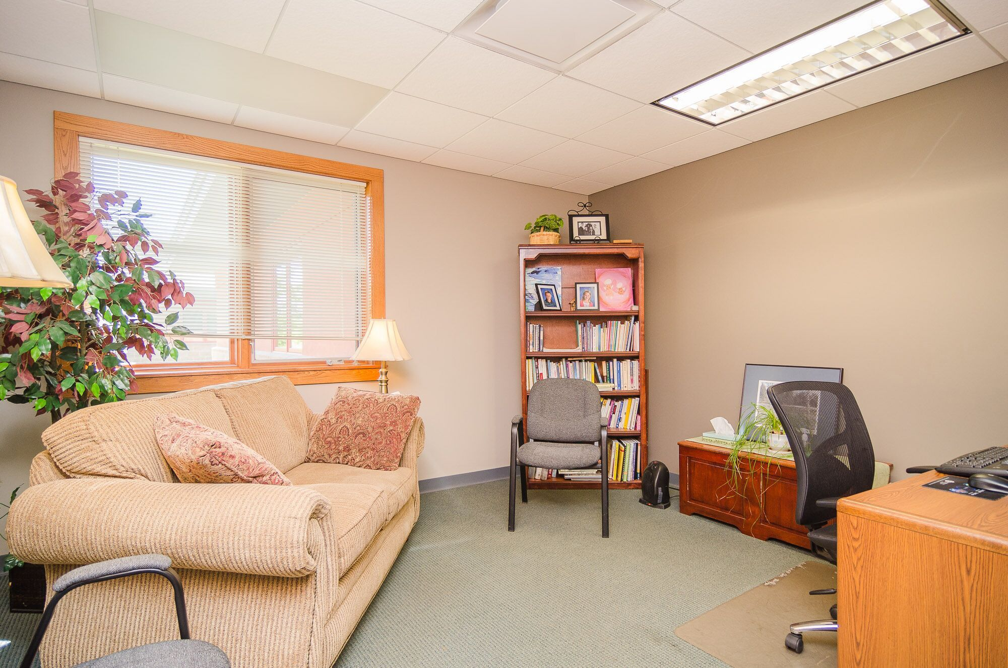 Traverse City Clinic therapist office