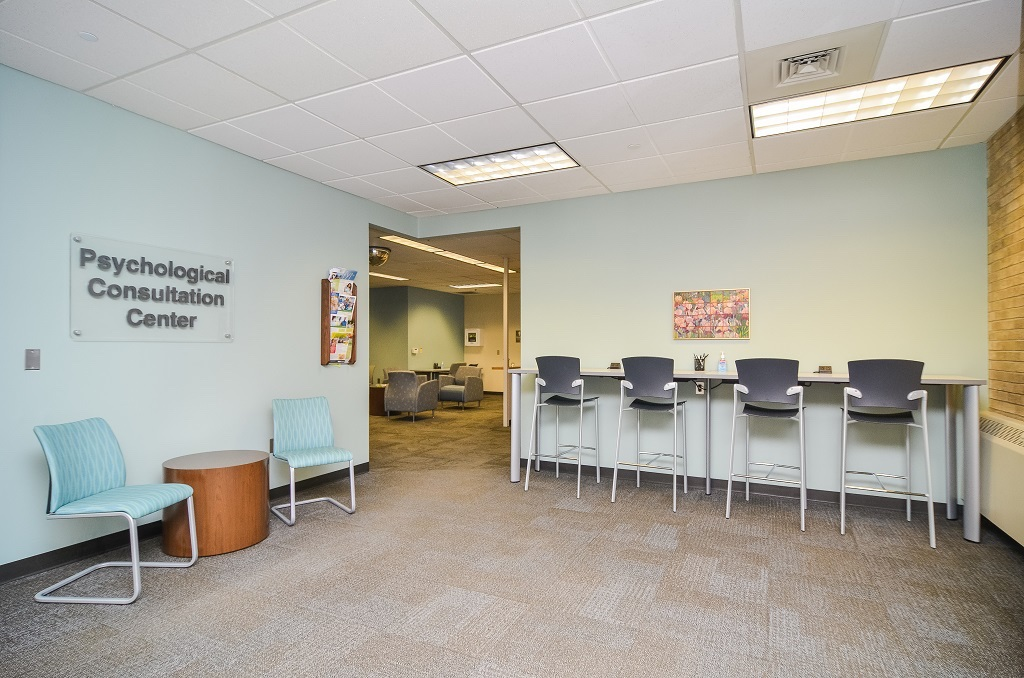 Psychological Consultation Center waiting area