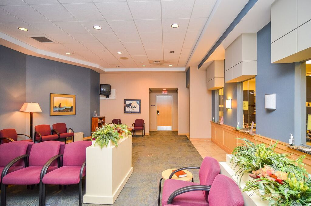 Southwest Clinic waiting area