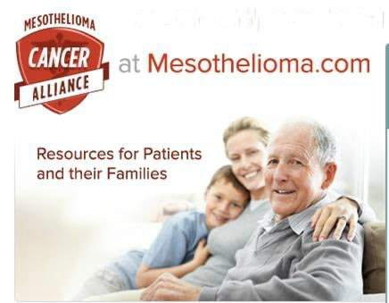Mesothelioma Logo and URL