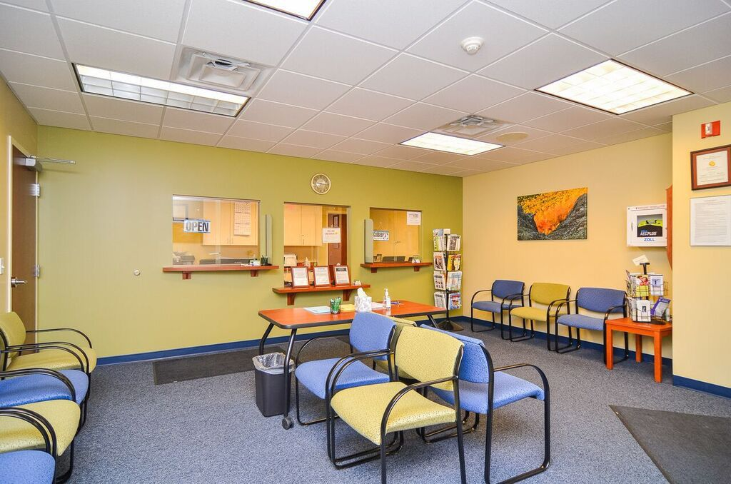 Portage Clinic waiting area