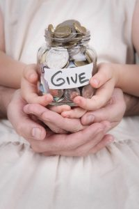 Blog - Why give as a family - Donate