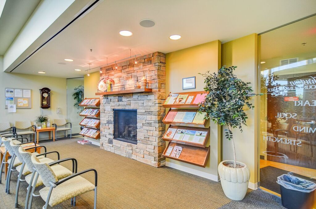 Christian Counseling Center waiting area